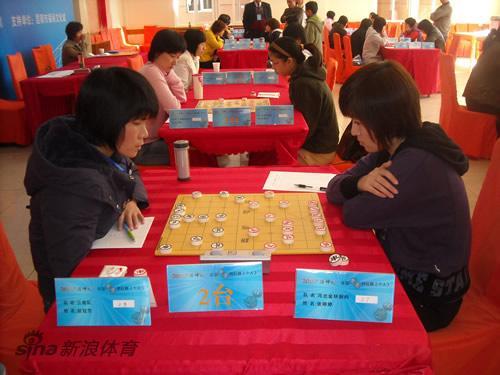 象棋个人赛女子组战罢第3轮赵冠芳刚秋英保持全胜