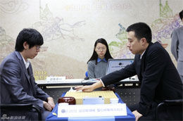 三星杯陈耀烨负李世石古力进4强独战韩国前3(谱)