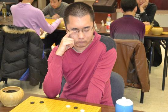 资料图:陈耀烨出战理光杯赛