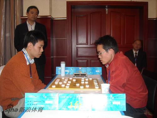 图文-全国象棋个人赛第3轮现场许银川对决汪洋