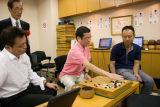 研究室的棋手们