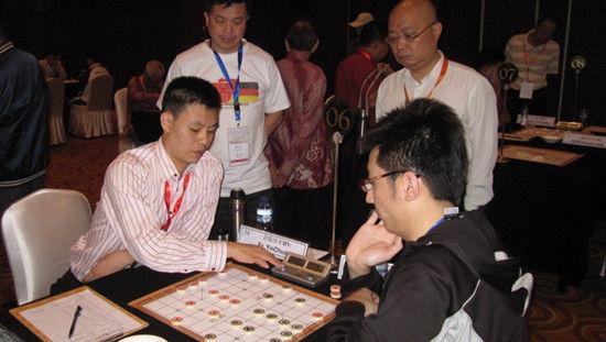 许银川象棋�:-f����,,_图文-象棋世界锦标赛现场 许银川险胜濮方尧