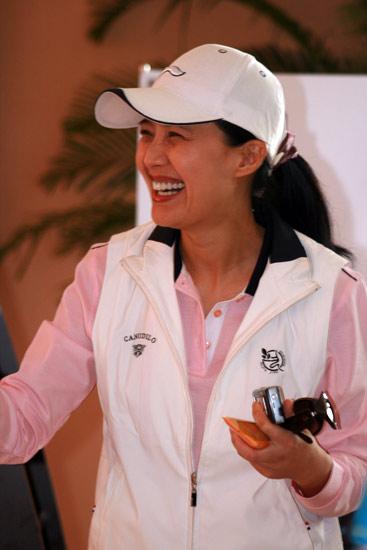 第十三届精品名人赛李煜:高尔夫帮你保持好身材