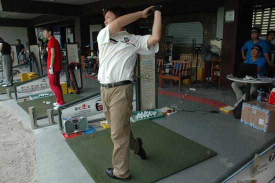 美津浓试打上海首站结束87%选手感到击球距离增加