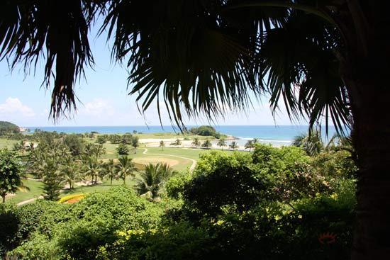 图文-南燕湾高尔夫球会美景球场一角窥视美景