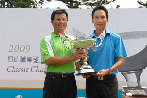 台湾仰德职业高尔夫邀请赛落幕卢建顺延长赛夺冠