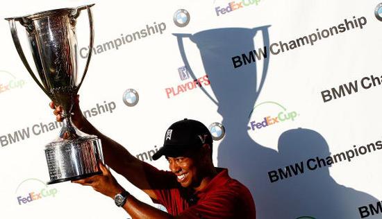 BMW锦标赛伍兹获8杆大胜联邦杯领先奖金接近千万