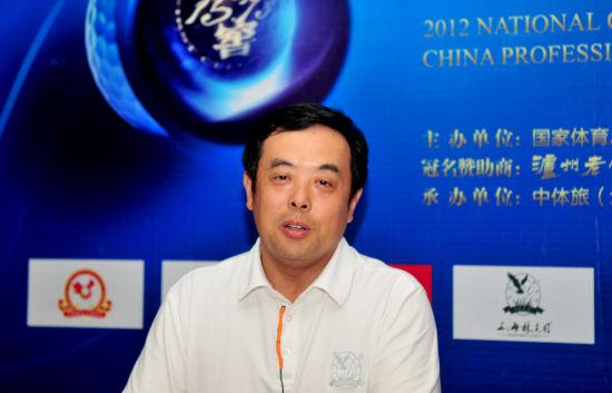 蒋大超:为中国高尔夫踏踏实实做一些贡献