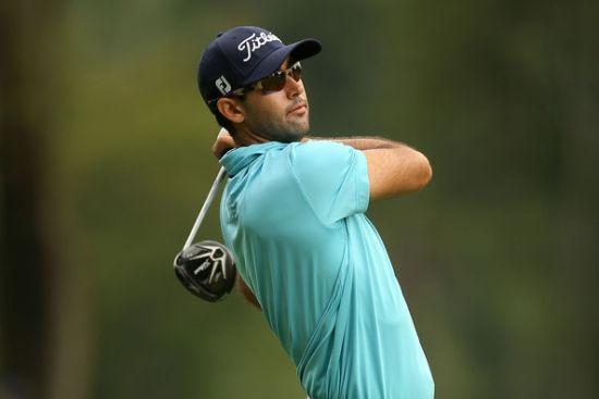 美国高尔夫球手卡麦隆-特林加伊