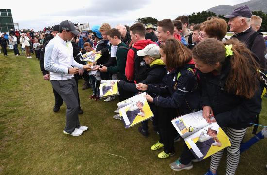 小麦在爱尔兰公开赛受到球迷热情欢迎
