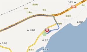 海南香水湾高尔夫俱乐部位置图示