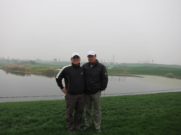 11-16挥杆北京红枫湖
