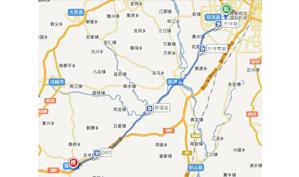 成都蒲江大溪谷国际乡村俱乐部位置图示