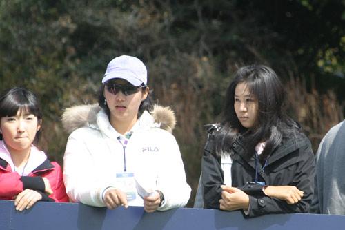 图文-百龄坛冠军杯决赛轮花絮韩国本地球迷观战