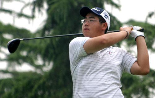 图文-索菲特锦标赛第二轮业余选手苏东