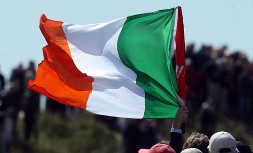 轮花絮 爱尔兰国旗