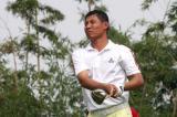 图文-中巡赛麓山锦标赛第一轮梁盛利6号洞开球