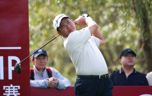 图文-欧米茄锦标赛第三轮中国台北詹益信