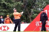 图文-2008汇丰冠军赛冠军争夺威尔逊11号洞开球