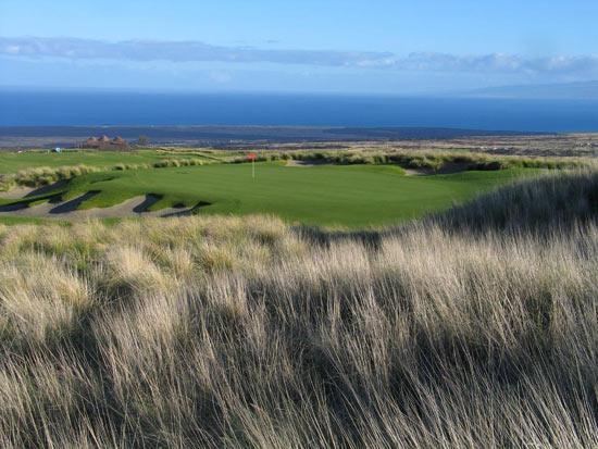 图文-夏威夷Nanea高尔夫俱乐部苏格兰林克斯风格