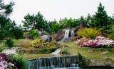 图文-福州温泉高尔夫球会美景春色满园