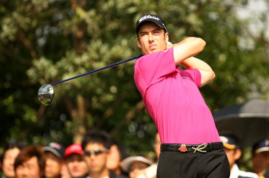 图文-汇丰高尔夫冠军赛第二轮罗斯-菲舍尔