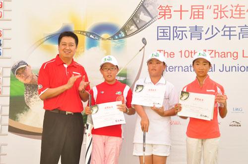 女子C组获奖球手