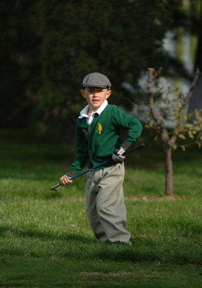 图文-天一少年系列赛年度赛 场上小绅士李大伟