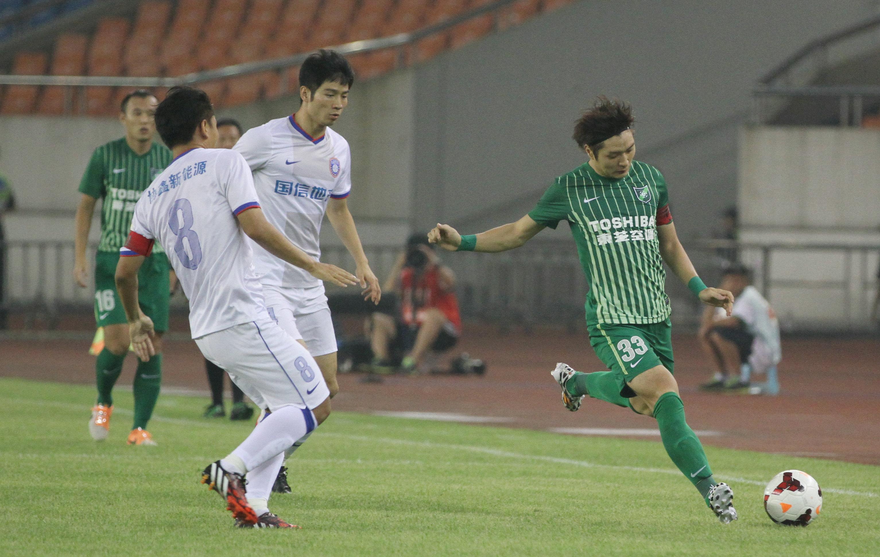 杭州绿城VS江苏舜天(1)