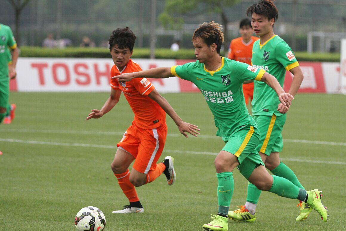 预备队联赛 杭州绿城VS山东鲁能(1)