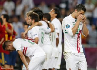 2012欧洲杯赛场上的泪水