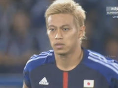 视频集锦-本田圭佑香川远藤3连击 日本3-1逆转加纳