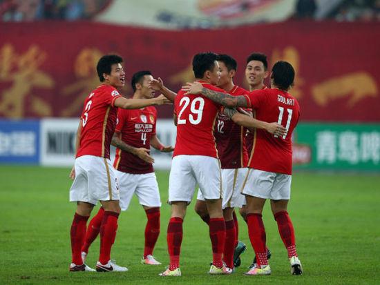 视频集锦-郜林闪击于汉超失空门 恒大1-0谢幕