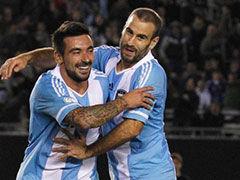 进球视频-阿根廷精彩配合 帕拉西奥助攻拉维奇反超