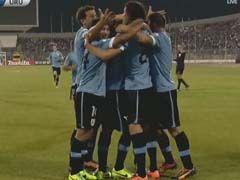 视频集锦-卡瓦尼世界波 附加赛乌拉圭5-0客胜约旦