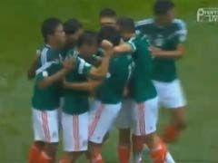 视频集锦-海外军团缺阵 墨西哥5-1横扫新西兰