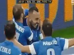 视频集锦-神乌龙挂死角 希腊1-1客平罗马尼亚出线