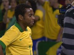 进球视频-罗比尼奥替补头槌 与内马尔跳桑巴庆祝