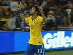 进球视频-巴西3次传递闪电进球 内马尔抽射贴地斩