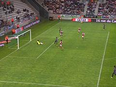 视频集锦-门将出击失误遭调戏 兰斯1-3雷恩