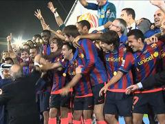 视频集锦-梅西加时绝杀大学生 巴萨世俱杯六冠王