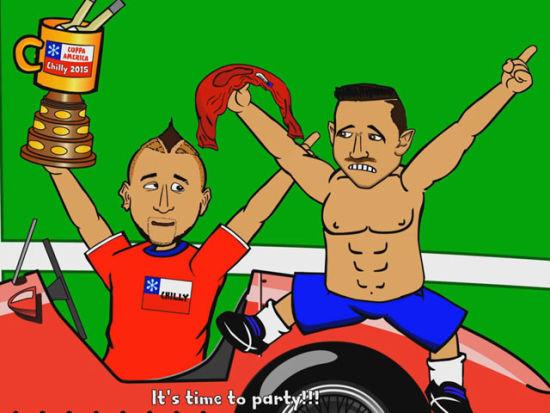 动画恶搞美洲杯决赛