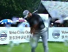 视频-2014沃尔沃中国公开赛第三轮录像(4)