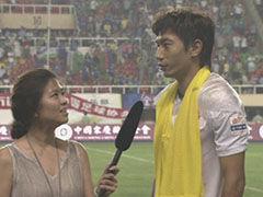视频-记者赛后采访朱挺 仿佛穿越到实德时的感觉