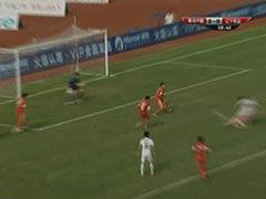视频-中场得球快速反击 辽宁宏运遗憾打中横梁