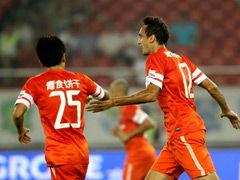 视频录播-中超第23轮:杭州绿城VS青岛中能上半场