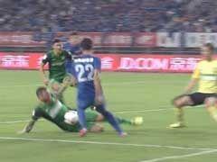 进球视频-马季奇腹部封堵遭误判 安塔尔点球得手