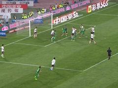 进球视频-刘殿座出击失误 郎征头槌斩赛季首球