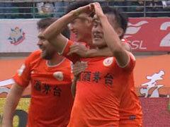 进球视频-陈杰外围突施冷箭 刘健帮倒忙变线入网