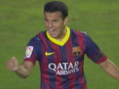 进球视频-梅西迷踪步戏耍对手 佩德罗推射拔头筹